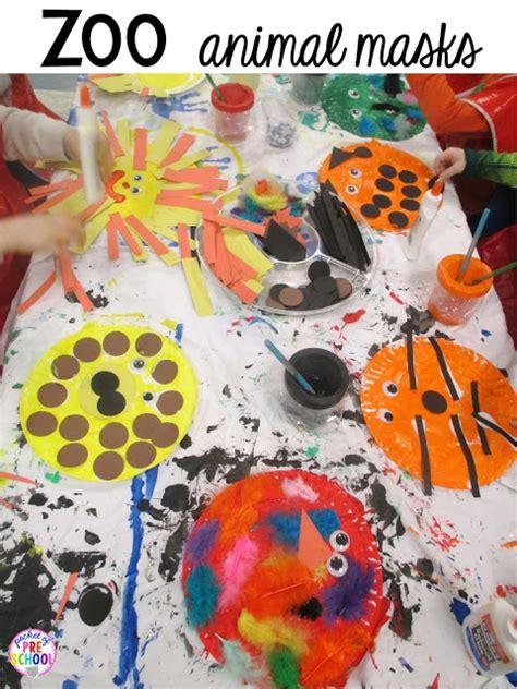 zoo centers  activities  desert art activity