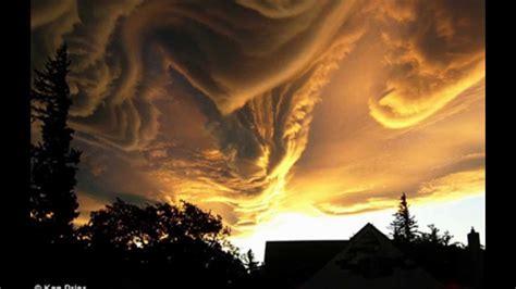 Strange Cloud Formation - YouTube