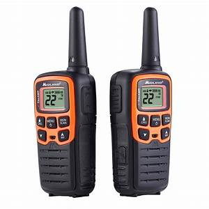 Midland X-talker 28-mile 2-way Radios With Dtc And Usb Charger In Black-t51vp3