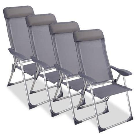 coussins chaises de jardin chaise cing pliante avec coussin aluminium meuble