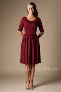 burgundy bridesmaid dresses 100 modest clothing mds1615