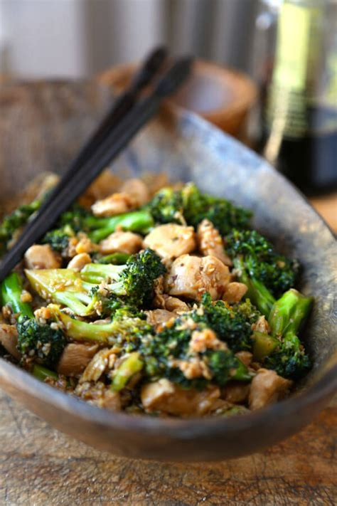 chicken and broccoli stir fry easy chicken broccoli stir fry pickled plum food and drinks