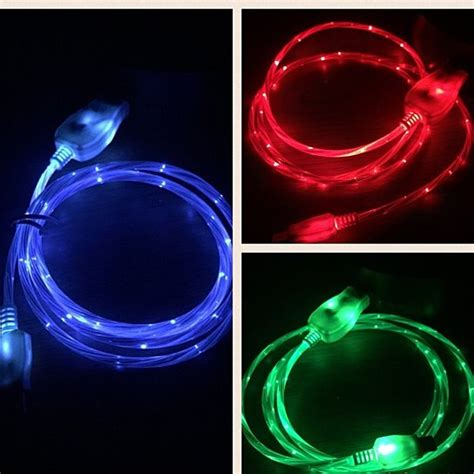 light up iphone charger buy iphone quot visible current flow quot light up charger by