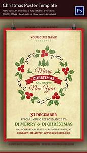 Free Template For Flyer 22 Christmas Posters Psd Format Download Free
