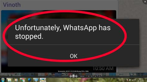 how to fix whatsapp error android unfortunately whatsapp has stopped working