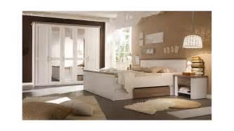 schlafzimmer möbel schlafzimmer set luca pinie weiß und trüffel 4 teilig