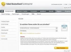 Kabeldeutschland Rechnung : kabel deutschland sicherheitspaket k ndigen so gehts ~ Themetempest.com Abrechnung