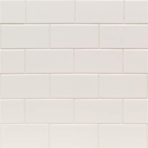 casa white 3x6 matte ceramic wall tile tilebar