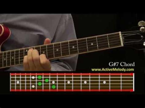 play   sharp chord   guitar youtube