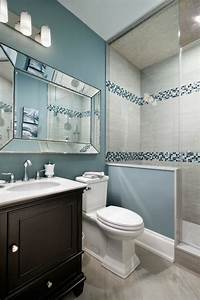 Salle De Bain En L : 1001 id es pour am nager une petite salle de bain des strat gies pour pargner de l 39 espace ~ Melissatoandfro.com Idées de Décoration