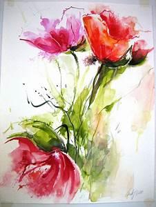 Aquarell Blumen Malen : malschule backstube hannover malkurse aquarellmalerei malreisen galerie ~ Frokenaadalensverden.com Haus und Dekorationen