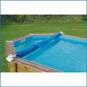 Enrouleur Bache A Bulle Piscine Hors Sol : abris pour piscine hors sol octogonale ~ Nature-et-papiers.com Idées de Décoration