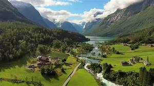 Beautiful, Nature, Norway, Natural, Landscape, Aerial, Footage