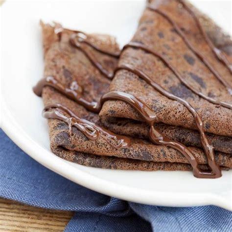 recette cuisine minceur recette crêpes au chocolat faciles