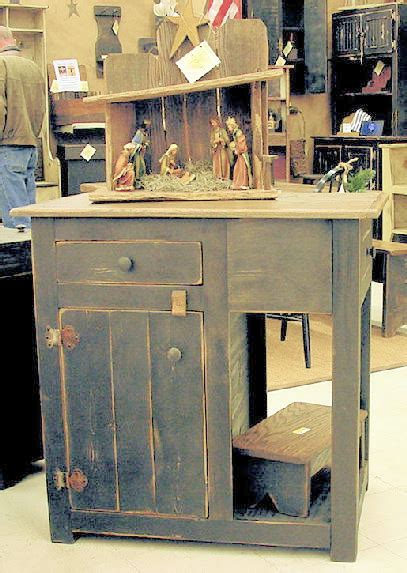 kitchen island country primitive furniture and furnishings 1684