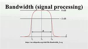 Bandwidth  Signal Processing