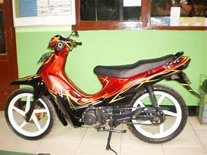 Modifikasi Airbrush Suzuki Shogun 110  Shogun 125  Shogun Sp