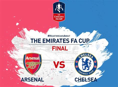 FA Cup final: When and where to watch Arsenal vs Chelsea ...