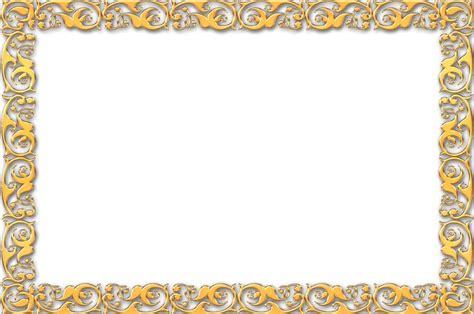 simple gold frame border simple gold frame border frame