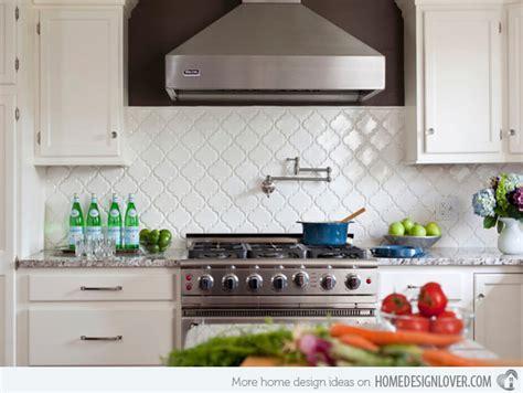 Tile Backsplashes For Kitchens Ideas - 15 beautiful kitchen backsplash ideas decoration for house