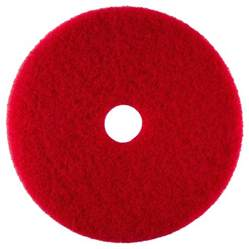 scrubble by acs 51 20 20 quot red buffing floor pad type 51