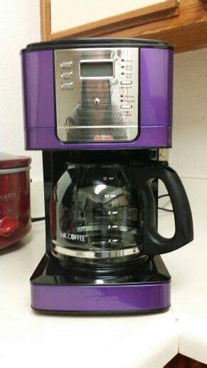purple coffee maker ive  hawking  purple
