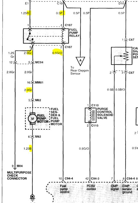 Fuel System Wiring Diagram 2003 Hyundai Santum Fe by Fuel 2003 Sonata