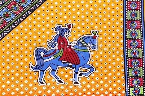 yellow base jaipur doli design  elephant print single