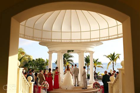 Mexico Destination Wedding Barcelo Maya Palace