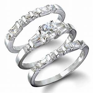 what is inside wedding rings sets wedding promise With ring sets wedding