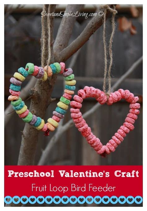 Valentine Bird Feeder Craft