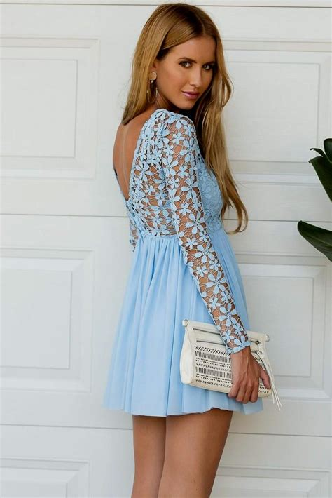 sleeve light blue dress light blue dress with sleeves naf dresses