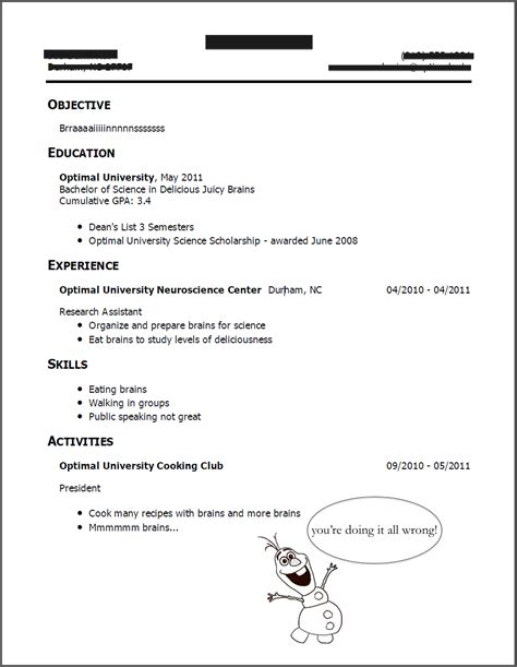 What Not To Put On A Resume by What Not To Put On Your Resume