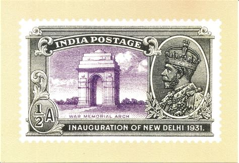277) Two Series Of Indian Postage Stamps