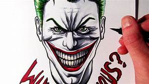 Joker Why So Serious Drawings Wallpaper Widescreen | Cool ...