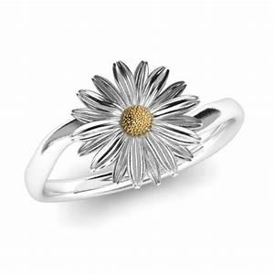 daisy rings flower jewellery With daisy wedding ring