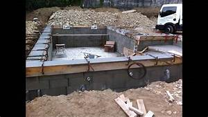 comment faire une piscine beton arme traditionnelle With comment construire une piscine en beton
