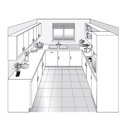 plan type de cuisine plan de cuisine en u pictures
