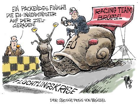 aktuelle karikaturen fluechtlingskrise