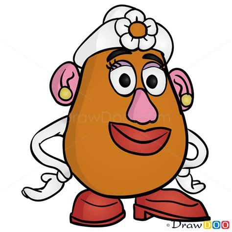 draw  potato head toy story