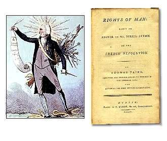 thomas paine king thomas paine the rights of man 1791 1792 neither