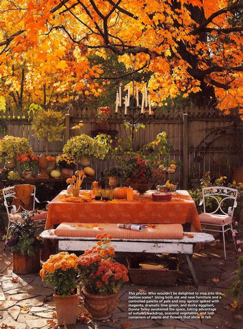 outdoor autumn theme table thanksgiving ideas juxtapost