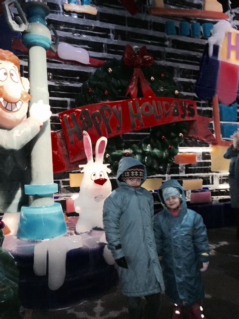 Ice Gaylord National Frosty The Snowman 2019 Beltway