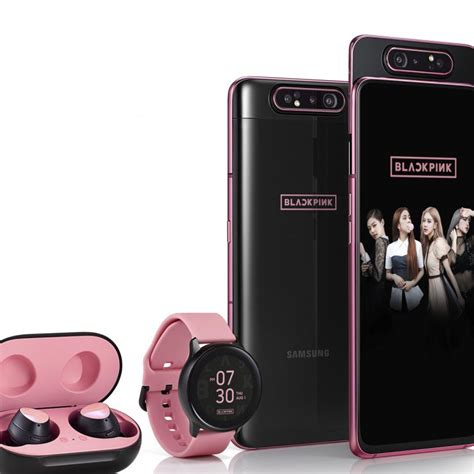 samsung to launch its galaxy a80 blackpink special edition along with and earbuds in