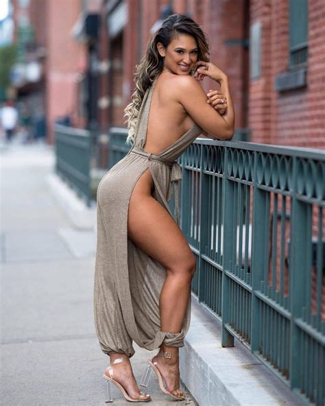 Pretty Brunette With A Great Ass And Legs Leaning Prop