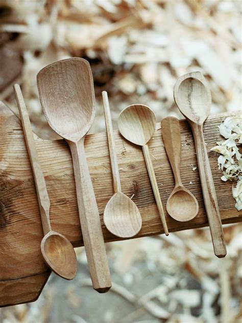 wooden spoons images  pinterest carved wood