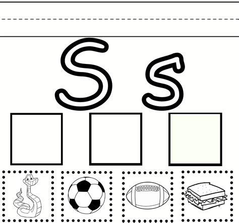 HD wallpapers letter s printable worksheets preschool