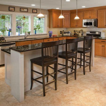 bi level kitchen island kitchen remodeling in doylestown pa gallery let s it 4619