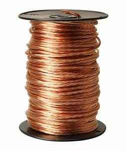 Copper wire and cable
