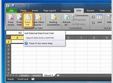 How to open a CSV file in Excel?